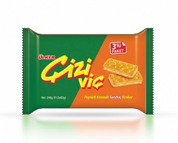 Cizivic Cracker mit Käsefüllung 3er
