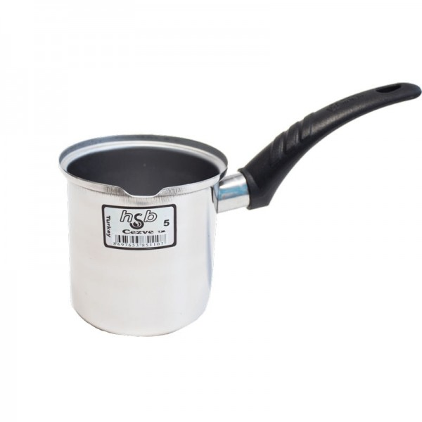 menzir Cezve Kaffeekocher aus Edelstahl Gr. 5