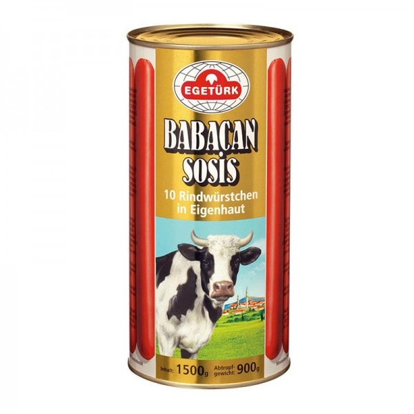 Egetürk Babacan 10 Rindwürstchen