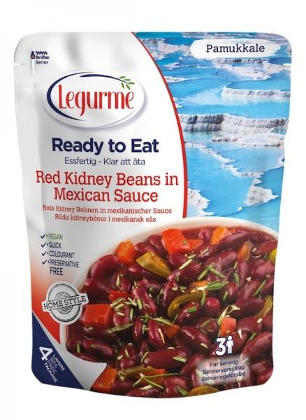 Rote Kidney Bohnen in mexikanischer Sauce