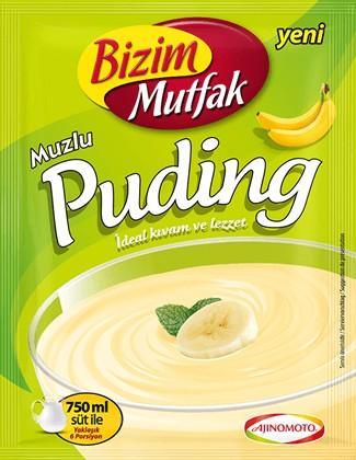 BIZIM Bananenpudding
