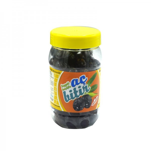 Ac Bitir Getrocknete Schwarze Oliven salzarm 200g
