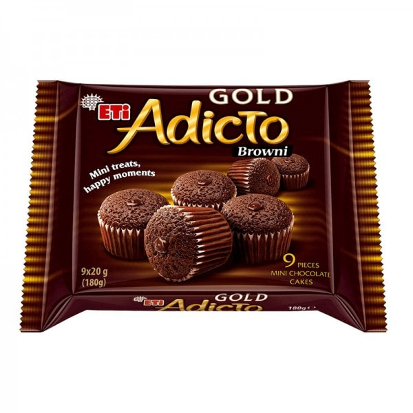 ETI Adicto Gold Brownie mini