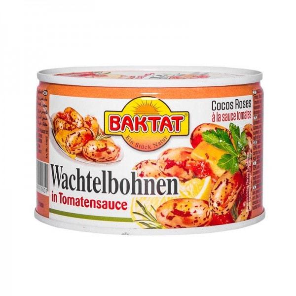 BAKTAT Wachtelbohnen in Tomatensauce