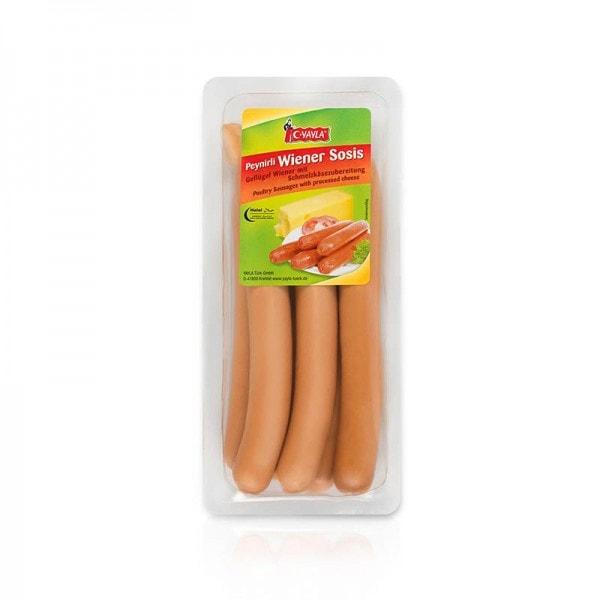 YAYLA Geflügel Wiener mit Schmelzkäsezubereitung